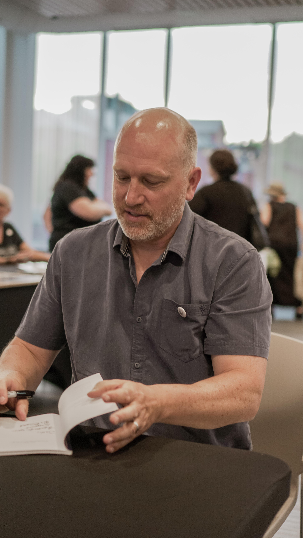 Scott signing